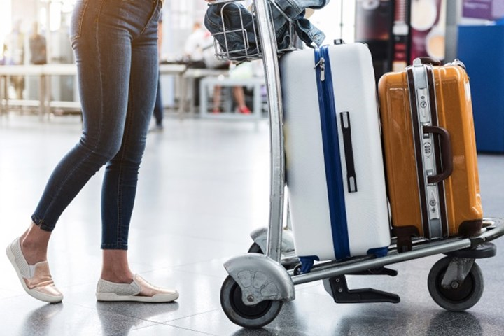 A big case for bag drop and bag tracking
