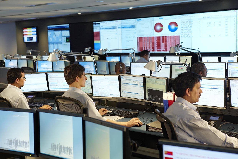 Centros de comando de SITA