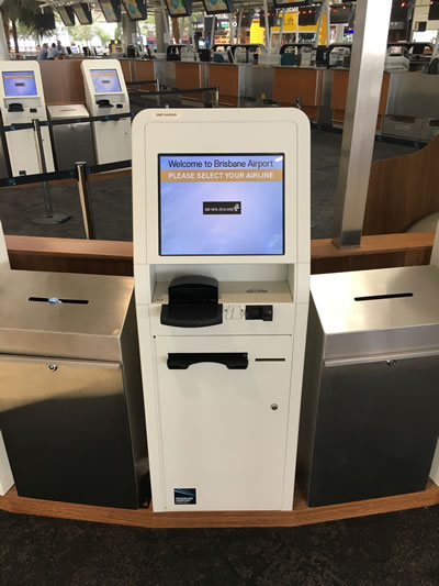 Brisbane SmartPath kiosk