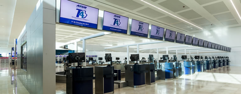 World-class passenger technology powers Cancun Airport's new terminal