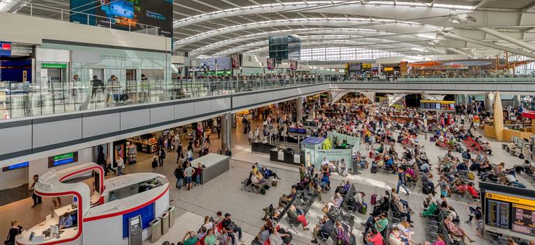 مطار هيثرو يولي SITA أمر تحويل إدارة شبكة الاتصالات الواسعة به