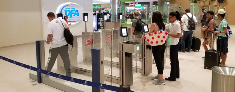 Punta Cana Airport's automated border checks speed passengers' journey