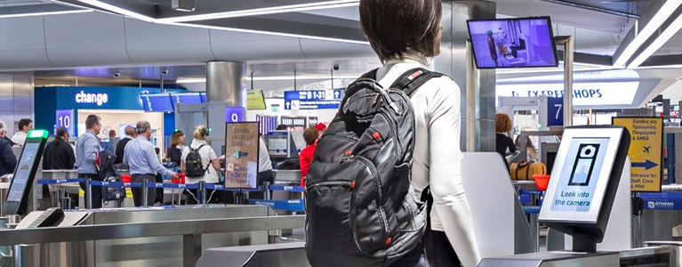 SITA Smart Path™ allows passengers at Athens Airport to use their faces as their boarding pass