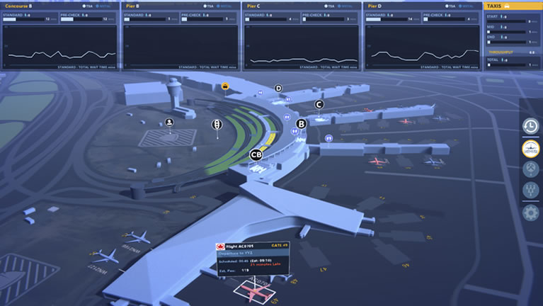 digital twin airport software
