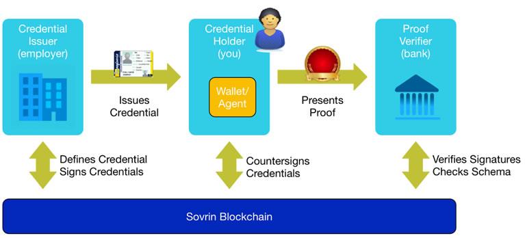 Sovrin blockchain
