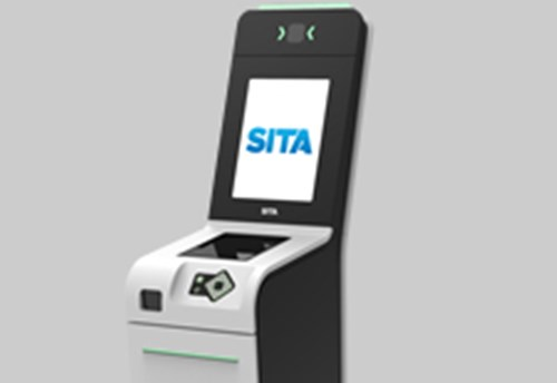 SITA Smart Path TS6 Self-tagging Kiosk