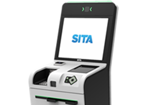 SITA Smart Path TS6 Check-in Kiosk