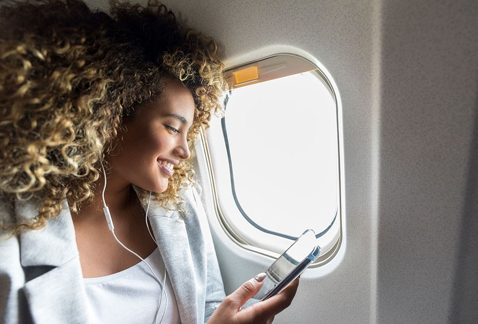 A 4G experience, inflight